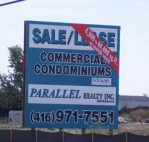 Real Estate / Yard / Campaign or Site Sign